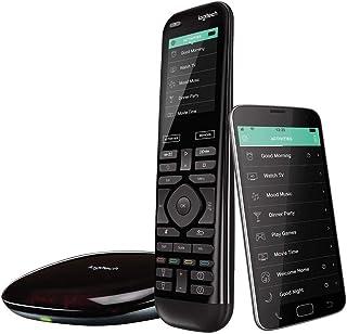Logitech Harmony Elite Control Remoto a Distancia Universal, SKY, Apple TV, Roku, Sonos y Smart Home, Fácil Configuración,...