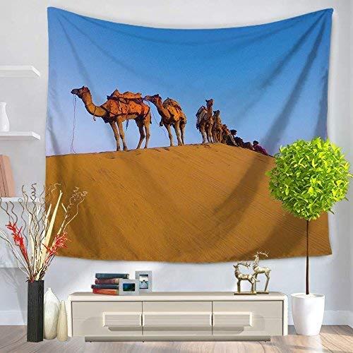 ZXL Tapisserie Desert Camel Series Strandlaken Deken (kleur: GT1076-1)