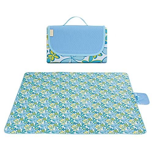 ALEOHALTER Manta de pícnic para pícnic, impermeable, tamaño grande, a prueba de arena, Oxford, para la familia, picnic, playa