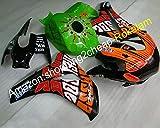 para CBR1000RR 2008 2009 2010 2011 CBR 1000 RR CBR1000 populares calcomanías verde negro kit de carenado (moldeo por inyección)