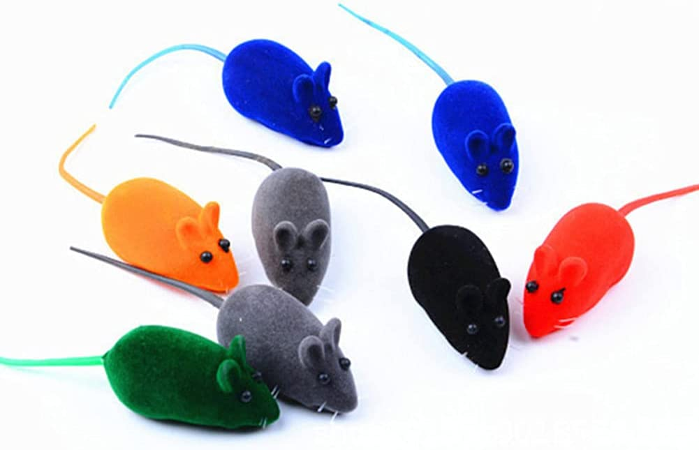 NiXing Cat Squeaky Mouse Toy Squeak To Noise Direct store Playing Dog Easy-to-use
