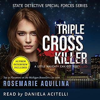 Triple Cross Killer audiobook cover art