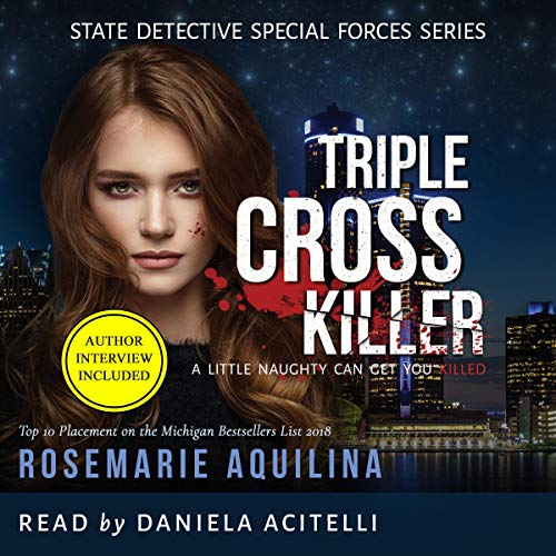 Triple Cross Killer audiobook cover art