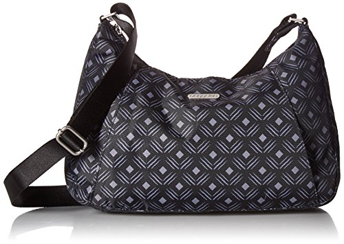 LIGHTWEIGHT AND WATER RESISTANT: Made of lightweight, water-resistant nylon, this large handbag can hold all your essentials while remaining comfortable and ideal for all day on the go. INTERIOR AND EXTERIOR ORGANIZATION: This roomy purse keeps you o...
