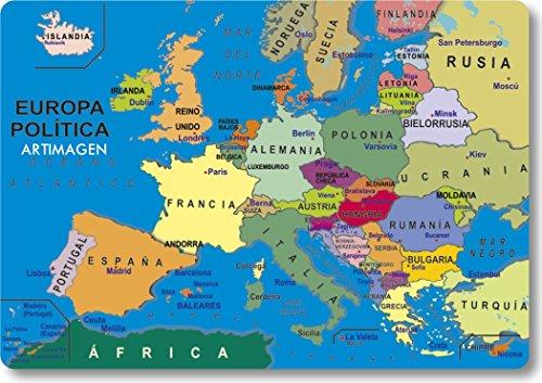 Artimagen Imán Mapa Europa 80x55 mm.