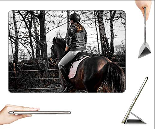 Case for iPad Pro 12.9 inch 2020 & 2018 - Andalusians Spanish Reiter Ride Sport Equestrian