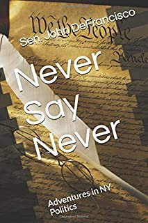Never Say Never: Adventures in NY Politics