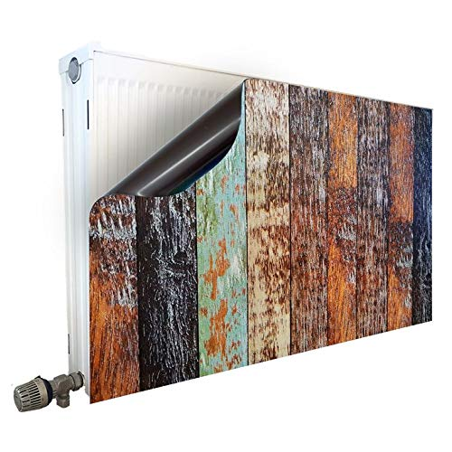 Smagnon Magneet radiatorombouw radiatorafdekking verwarming motief Rustywood