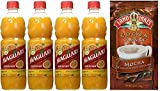 Maguary Passion Fruit Concentrate Juice 500 ml (Pack of 04) + Land O Lakes Cocoa Classics Mocha & Chocolate 35g