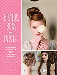 The Best Gifts for Teenage Girls Braids, Buns and Twists book for hair care gift basket for teens.