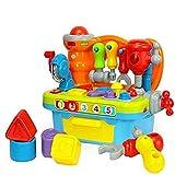 Brain Game Musik Werkbank Spielzeug | Multifunktionales Werkzeug Tisch Power Tool Nut Kombination |...