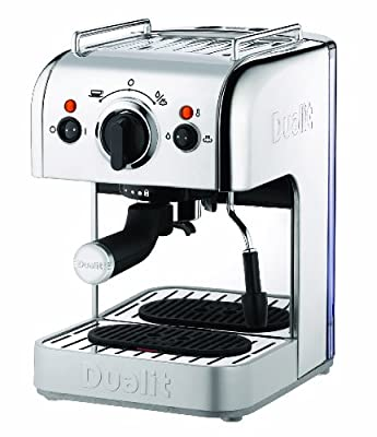 Dualit 84440 3-in-1 Coffee Machine, Silver