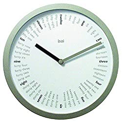BAI Designer Wall Clock, Spellbound