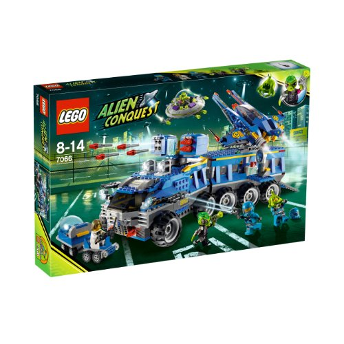 LEGO Alien Conquest 7066 - Mobile Alien-Abwehrzentrale