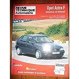 RRTA0547.2 REVUE TECHNIQUE AUTOMOBILE OPEL ASTRA F Essence 1.4l, 1.6l, 2.0l et Diesel 1.7l atmo et Turbo