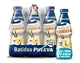 Puleva Batido Vainilla - Paquete de 6 x 1000 ml - Total: 6000 ml