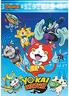 Amscan Yokai Watch Loot Bags (8 ct)