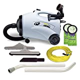 ProTeam Canister Vacuum Cleaners, ProVac CN Vacuum Canister with Restaurant Tool Kit Attachments, 10...