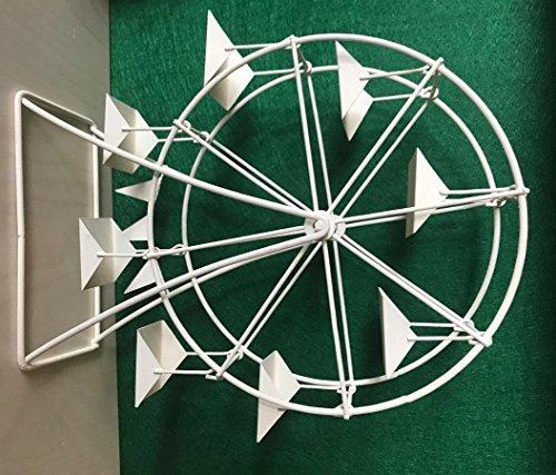 Dekop Miniatur Modell, Riesenrad, weiß Höhe 26cm (4444635096514)