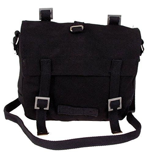 BW Army Kampftasche / Canvas Bag, klein, Farbe: schwarz