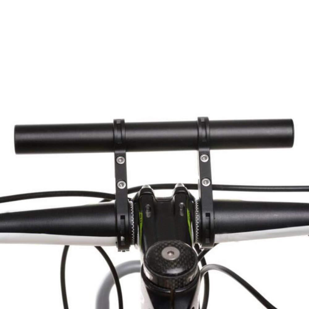 FHISAFHQ Tubo de Aluminio Bicicleta Linterna Soporte Manillar ...