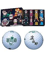 [スリクソン]ゴルフボール 1ダース(12個入) AD SPEED 鬼滅の刃キャラクターボール SRIXON AD SPEED キメツ WH