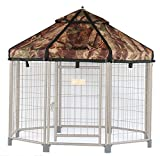 Advantek Pet Gazebo Replacement Cover for 4ft Gazebos, Dark Forest