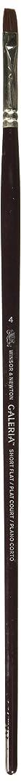 Winsor & Newton Galeria Bright Long Handle Brush, Size 4