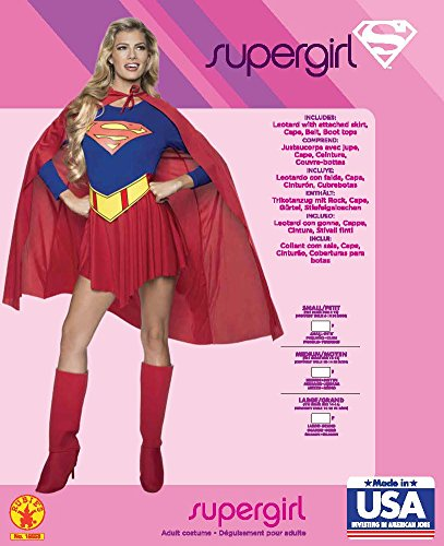 Rubie's Costume Supergirl per Adulti, S, IT15553-S