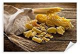 Postereck - Poster 0113 - Nudeln, Weizen und Mehl Kueche