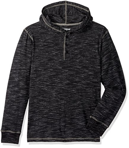 LEE Big Boys' Novelty Hoodie, Black L946hd173, M