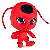 Miraculous Ladybug Peluche peluche, jouets mous, original, 3 personnages différents disponibles! (Chat Noir) (Tikki (Red))