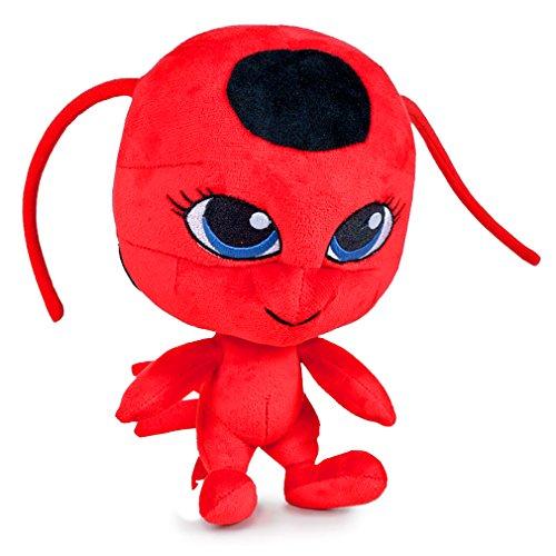 Peluche milagroso de la felpa de la mariquita, juguetes suaves, original, 3 diversos caracteres disponibles! (Tikki (Red))