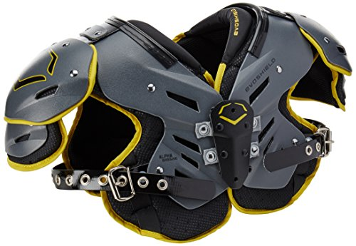 EvoShield EvoAlpha Junior Football Shoulder Pads - S