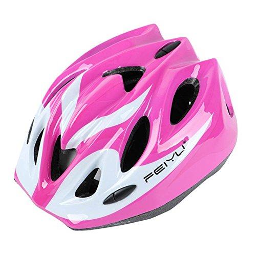 G-Kids UnisexKinder Fahrradhelm Sicherheit Helm Skaterhelm Sicherheitshelm für Mädchen Jungen (Rosa)