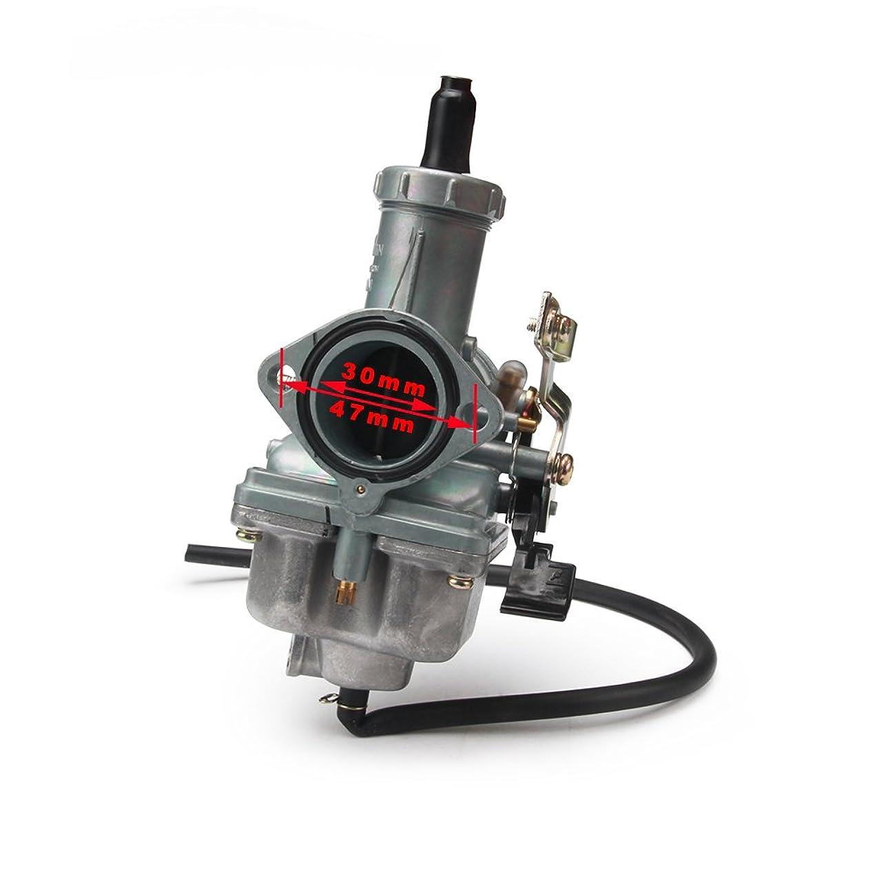 Cable Choke PZ30 30mm Carb Carburetor For Motorcycle 200CC 250CC Dirt Bike ATV Quad tao tao