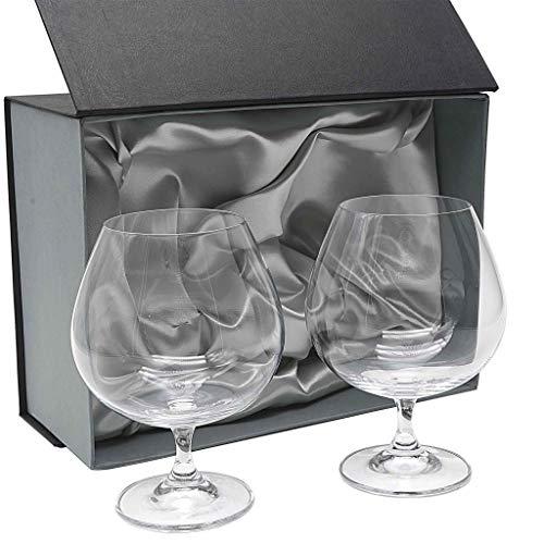 la galaica Set 2 Copas de Cristal para coñac o Brandy, colección Gastro.