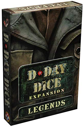 Word Forge Games D-Day Dice - Legends Exp., Multi