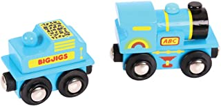 Bigjigs Rail BJT411 Blue ABC Engine