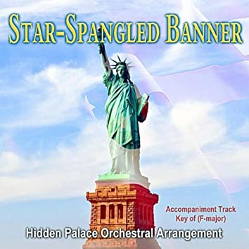 Star Spangled Banner Accompaniment Track in F