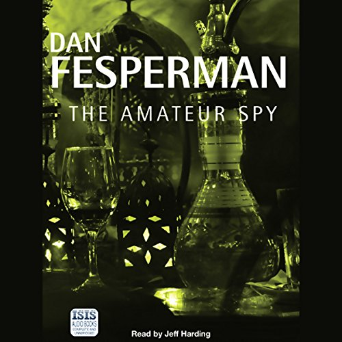 The Amateur Spy audiobook cover art