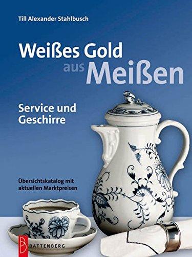 Weißes Gold aus Meißen. Service und Geschirre.: Service und Geschirre