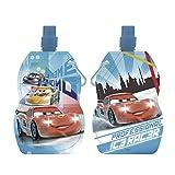 ARDITEX WD8559 Botella Plegable y Reutilizable de Disney-Pixar-Cars