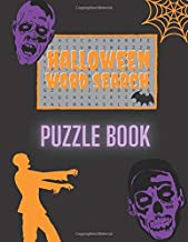 Halloween Word Search Puzzle Book: 60 Large Print Scary Word Search Puzzles