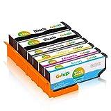 Gohepi 33XL Pack Compatibles Epson 33 33XL, Pack de 6 Travailler avec Epson...