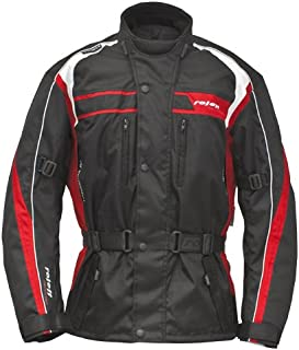 Negro Tama/ño L Roleff Racewear Kodra Moto Chaqueta RO 607