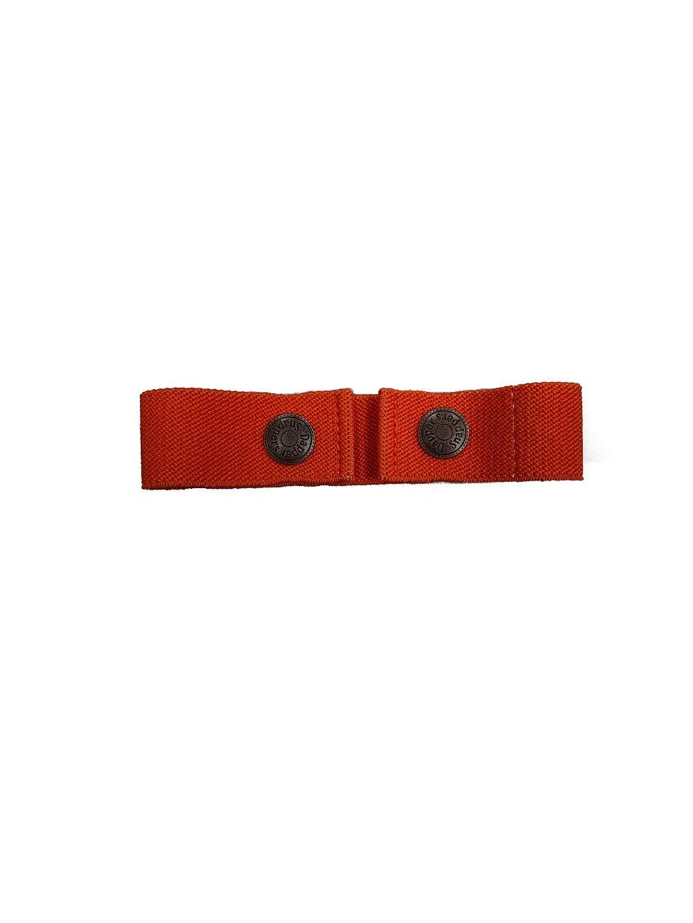 Dapper Snapper Baby & Toddler Adjustable Belt (Orange)