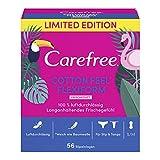 Carefree Cotton Flexiform - Ambientador (5 paquetes de 56 unidades)