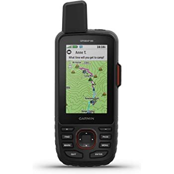 Garmin GPSMAP 66i, GPS Handheld and Satellite Communicator, Featuring TopoActive mapping and inReach Technology