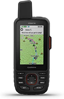 $439 » Garmin GPSMAP 66i, GPS Handheld and Satellite Communicator, Featuring TopoActive mapping and inReach Technology